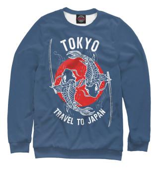 Одежда с принтом Tokyo. Travel to Japan
