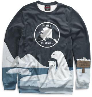 Одежда с принтом Аляска (680566)