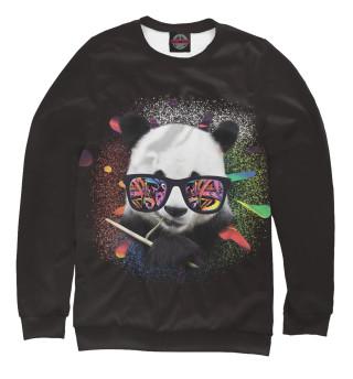Одежда с принтом Панда в очках