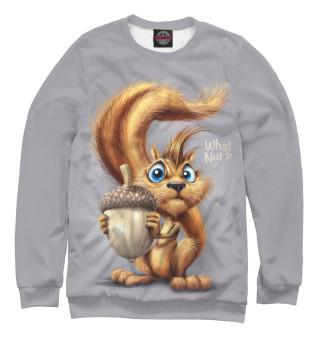 Одежда с принтом Furry Squirrel