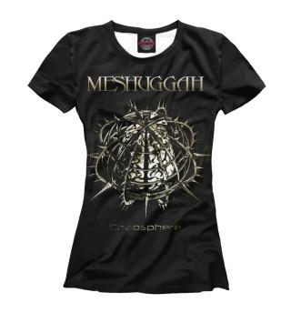 Футболка женская Meshuggah (2371)