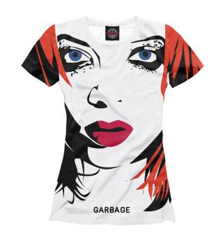 Футболка женская Shirley Manson Art