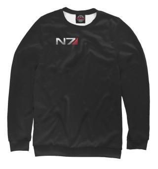 Одежда с принтом Эмблема N7