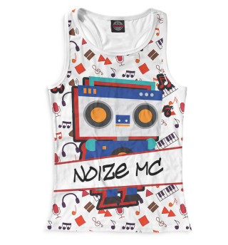 Майка борцовка женская Noize MC (9371)