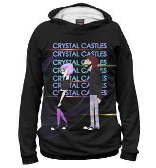 Худи женское Crystal Castles (4608)