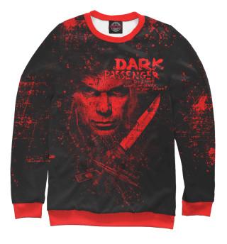 Одежда с принтом Dark Passenger