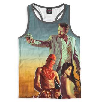 Майка борцовка мужская Max Payne 3
