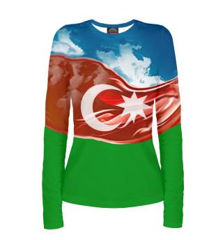 Лонгслив  женский Азербайджан (5471)