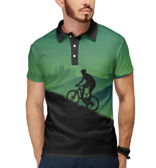 Поло мужское Велосипедист MTB