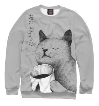 Одежда с принтом Morning Cat