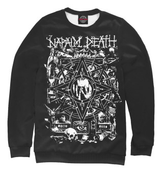 Одежда с принтом Napalm Death (355272)