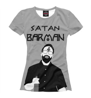 Футболка женская Satan Barman
