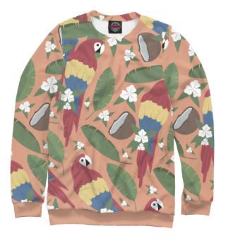 Одежда с принтом Попугайчики (767711)