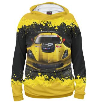 Худи женское Chevrolet Corvette