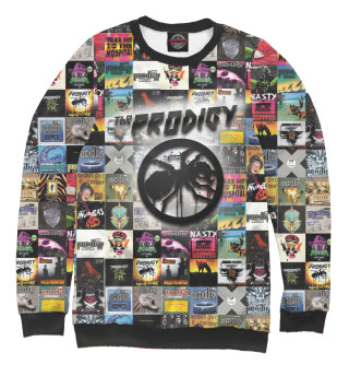 Свитшот  женский Prodigy All Albums