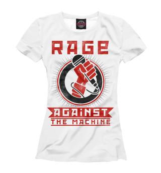 Футболка женская Rage Against the Machine (3781)