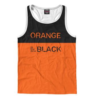 Майка борцовка мужская ORANGE IS THE NEW BLACK