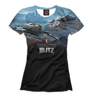 Футболка женская World of Tanks Blitz (7539)