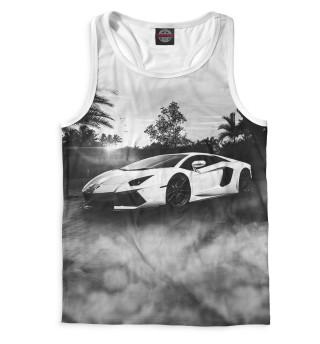 Майка борцовка мужская Lamborghini (6957)