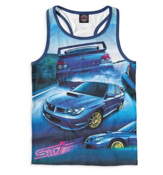 Майка борцовка мужская Subaru (3376)