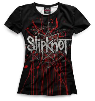 Футболка женская Slipknot (2523)