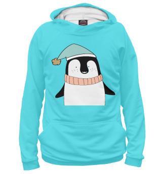 Худи для девочек Милый пингвинчик