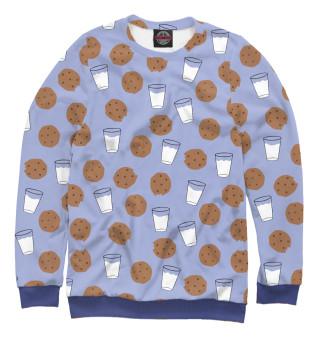 Одежда с принтом Молоко и печеньки