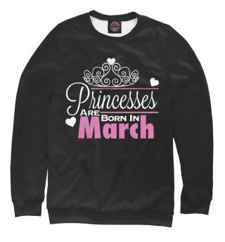 Одежда с принтом Принцессы рождаются в марте