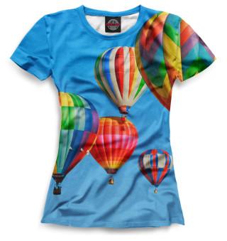 Футболка женская Воздушные шары (3667)
