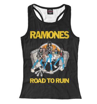 Майка борцовка женская Ramones (897)