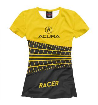 Футболка женская Acura racer