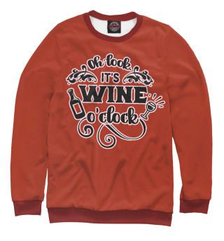 Одежда с принтом Wine time