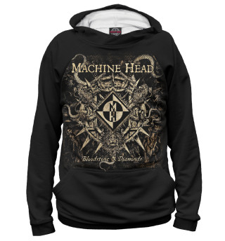 Худи женское Machine Head (6689)
