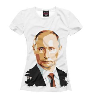 Футболка женская Путин (9511)
