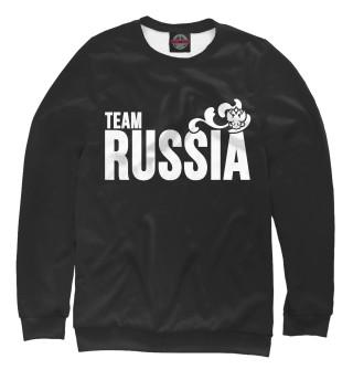Одежда с принтом Team Russia