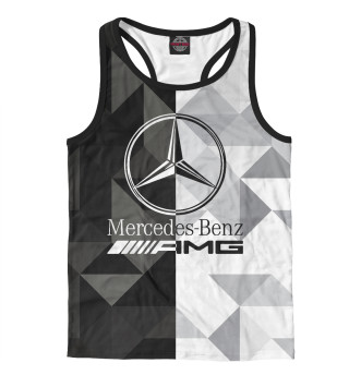 Майка борцовка мужская Mercedes-Benz Diamond