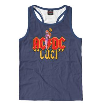 Майка борцовка мужская AC DC (7984)