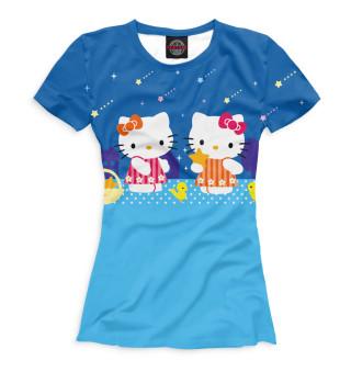 Футболка женская Hello Kitty (335)