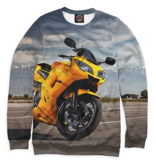 Одежда с принтом Мотоцикл