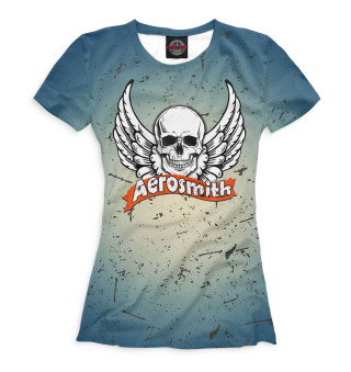 Футболка женская Aerosmith (3740)