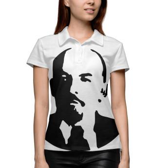 Поло женское Ленин