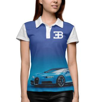 Поло женское Bugatti (2745)