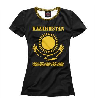 Футболка женская Казахстан (7800)