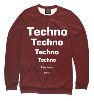 Одежда с принтом Techno (855050)