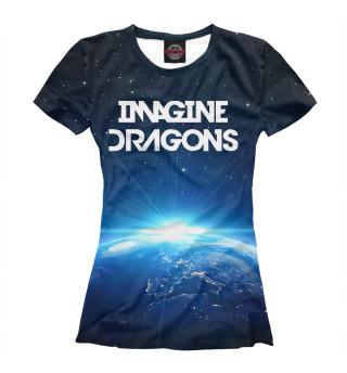 Футболка женская Imagine Dragons