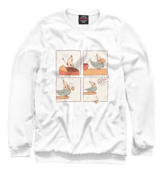 Одежда с принтом Голодный попугай