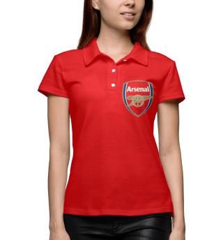 Поло женское Арсенал