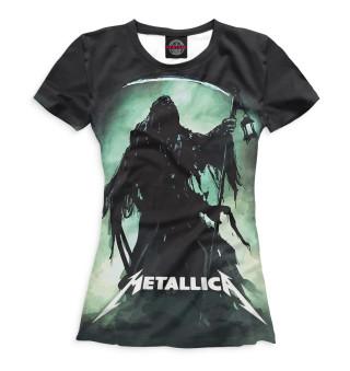 Футболка женская Metallica (4202)