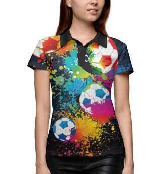 Поло женское Футбол (1571)