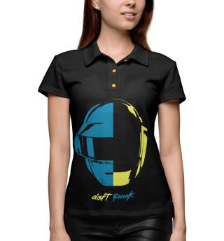 Поло женское Шлем Daft Punk